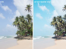 Warm Vintage - Sunshine Seeker Island Light Lightroom Presets - FilterGrade