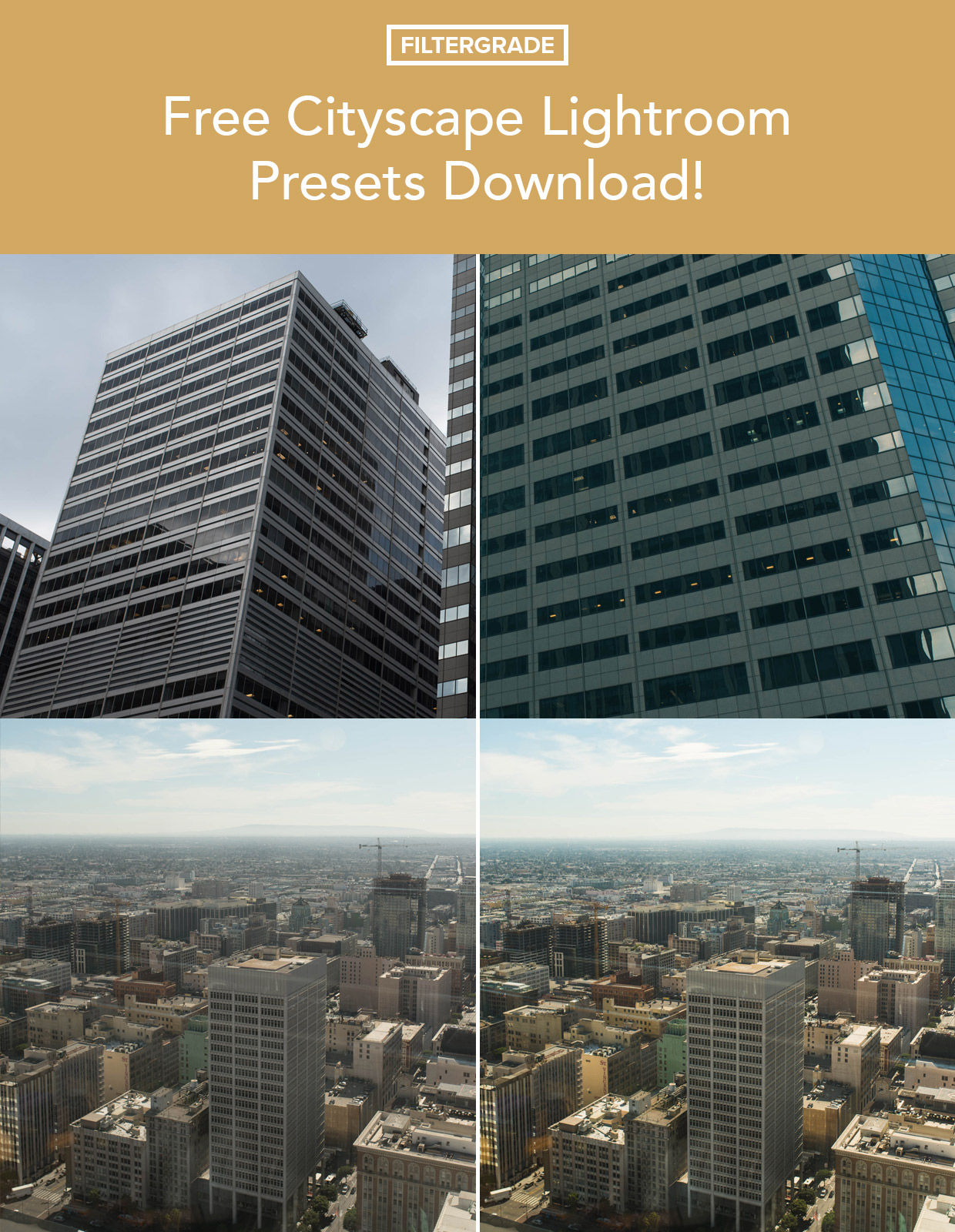 Free Cityscape Lightroom Presets Download - FilterGrade