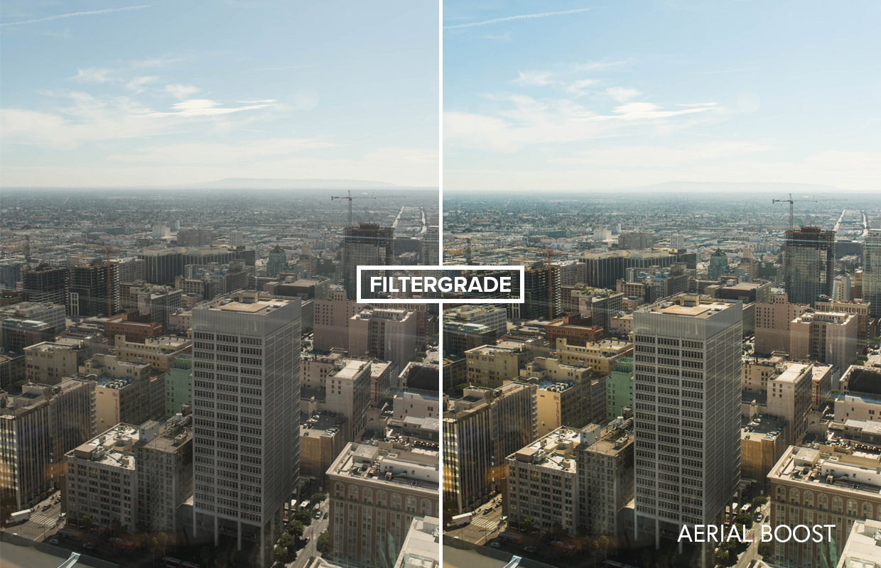 free aerial cityscape presets for lightroom