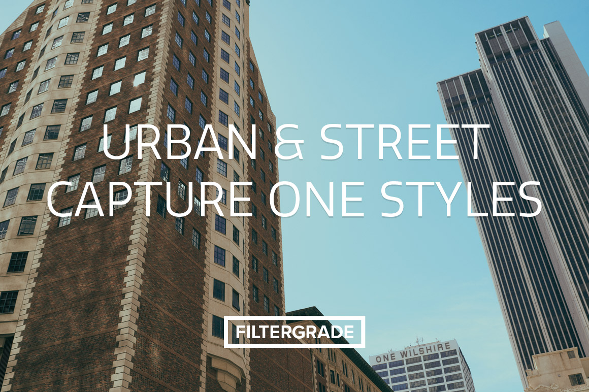 Urban & Street Capture One Styles for city photos