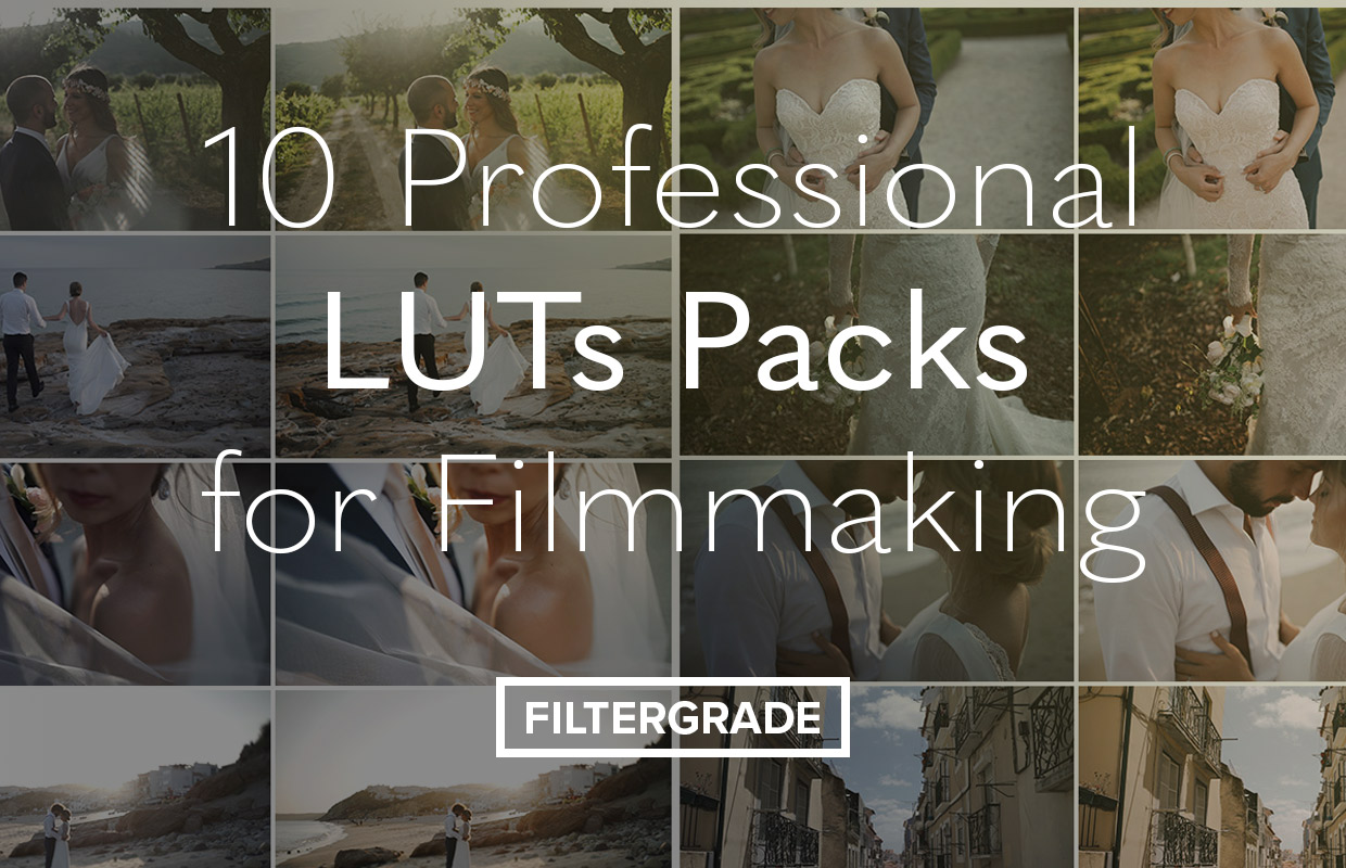 10 Professional LUTs Packs and Bundles for Filmmaking - FilterGrade
