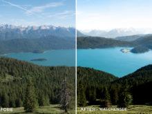Walchensee - Bastian Schertel Lightroom Presets - FilterGrade
