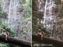Jungle Jane - The Wanderlovers Lightroom Presets - FilterGrade
