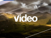 after effects video slideshow template