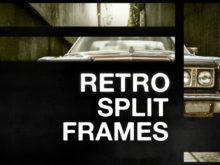 Retro Split Frame Slideshow Creator for After Effects