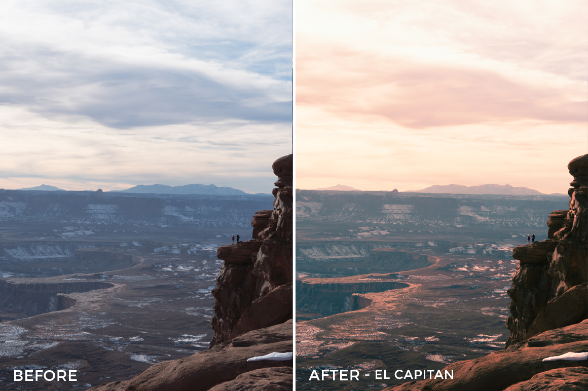 El Capitan - Dani the Explorer Lightroom Presets - FilterGrade