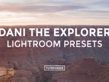 Dani the Explorer Lightroom Presets - FilterGrade