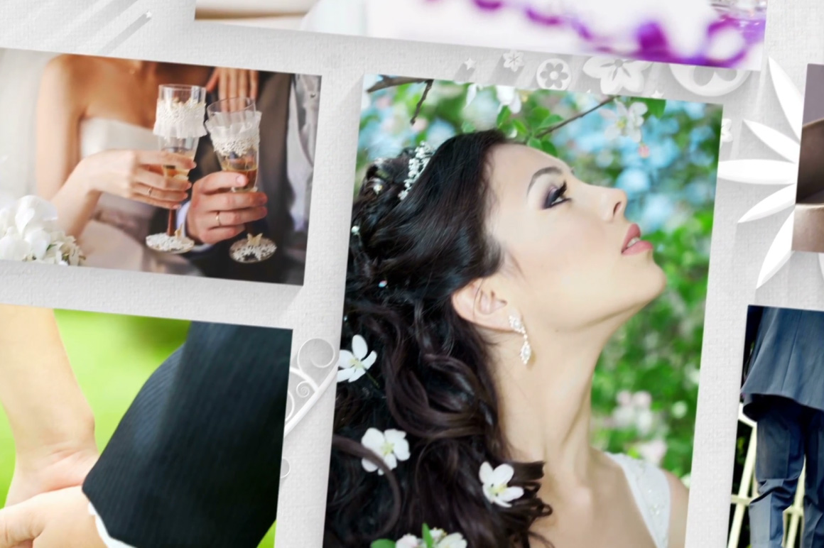 wedding slideshow presentation video template