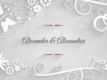elegant wedding ae template