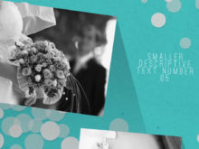 modern wedding slideshow video
