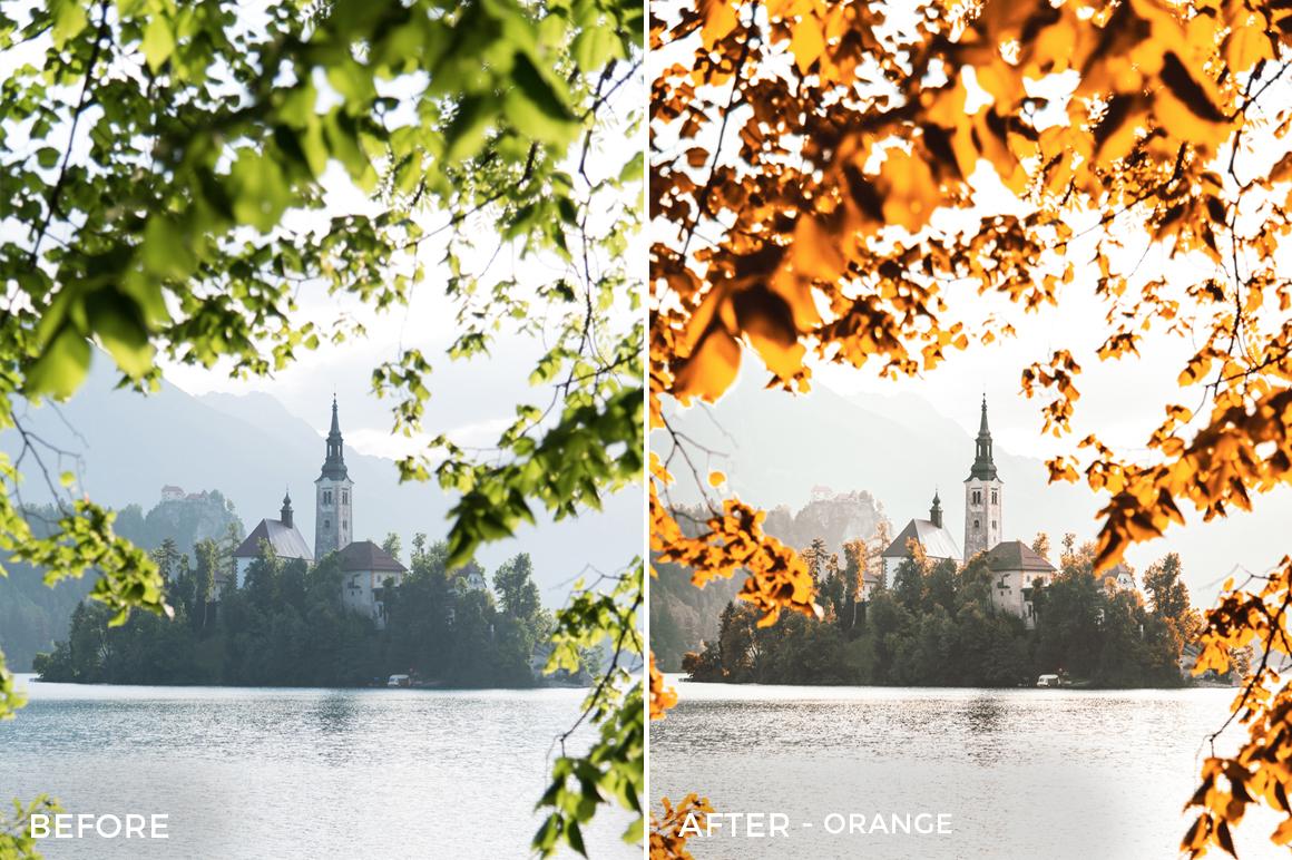 ORANGE - Franck Reporter Lightroom Presets - FilterGrade