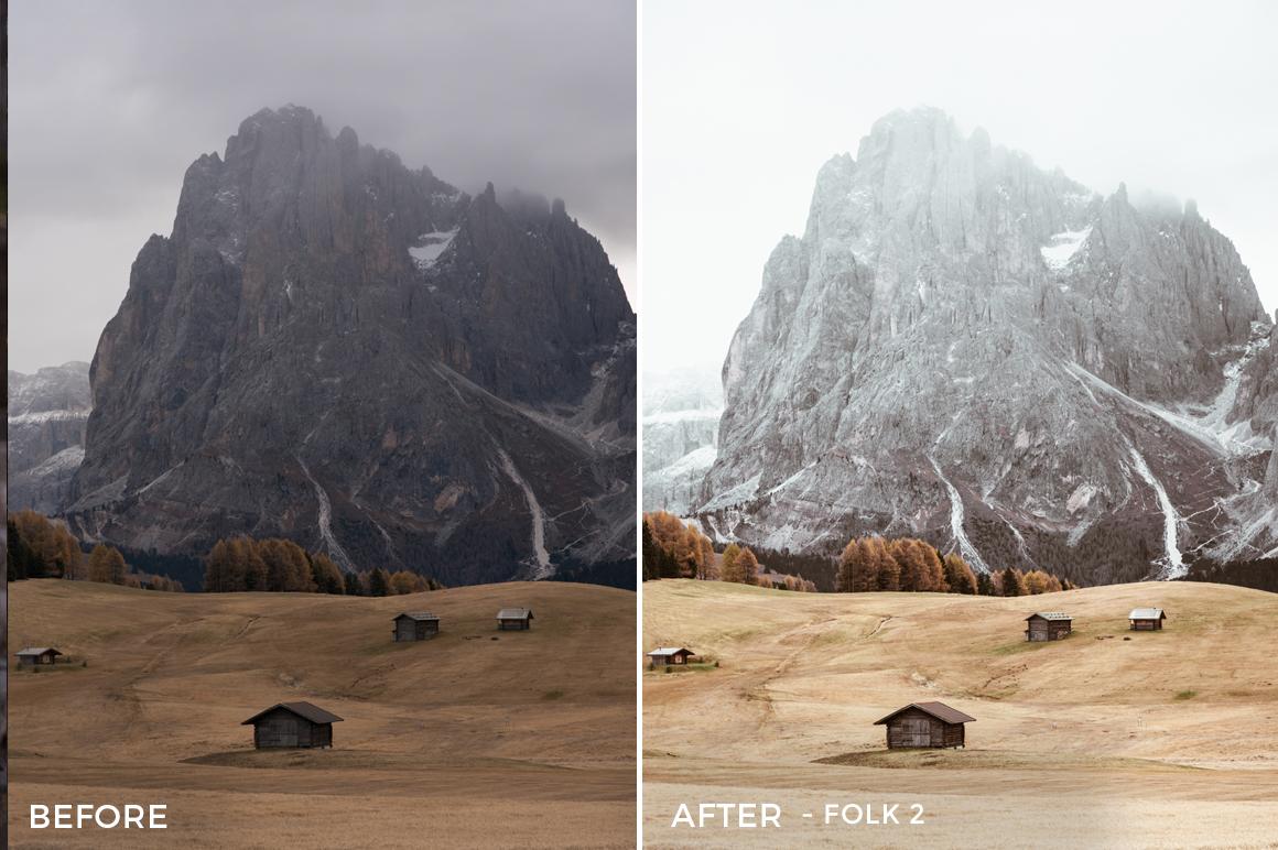 Folk 2 - Franck Reporter Lightroom Presets - FilterGrade