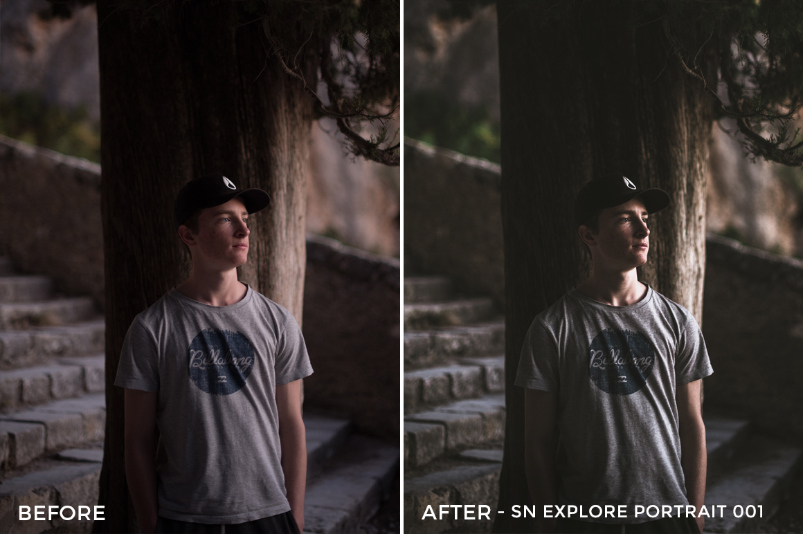 SN Explore Portrait 001 - Nathan Saillet Lightroom Presets - FilterGrade