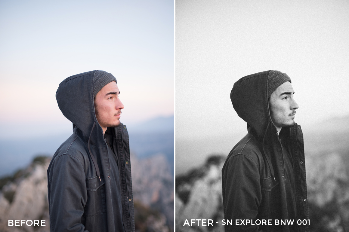 SN Explore BNW 001 - Nathan Saillet Lightroom Presets - FilterGrade