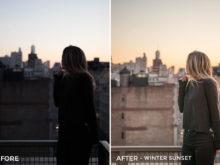 -cWinter Sunset - Bree Rose Lightroom Presets - FilterGrade