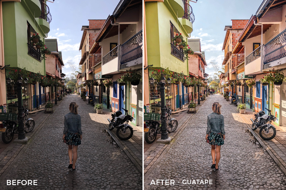 Guatape - Bree Rose Lightroom Presets - FilterGrade
