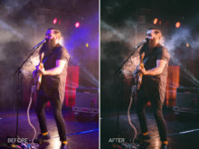 10.Clean Muted - Merrick Winter Live Music Lightroom Presets - FilterGrade