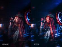 8.Blue Diamond - Merrick Winter Live Music Lightroom Presets - FilterGrade