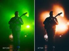 2.Green Reducer - Merrick Winter Live Music Lightroom Presets - FilterGrade