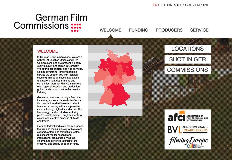 German Film Commissions website