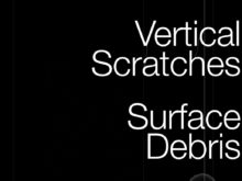 surface debris video loops and effects