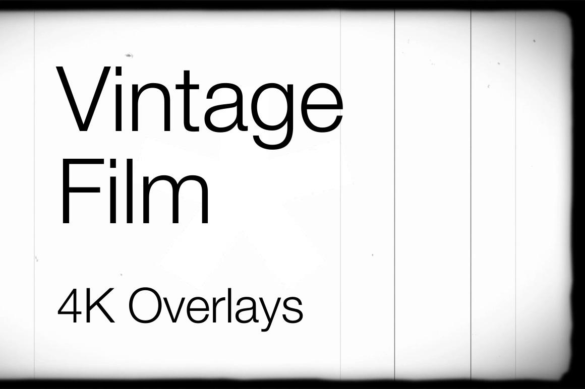 4k Vintage Film Overlays Motion Graphics Kit Filtergrade