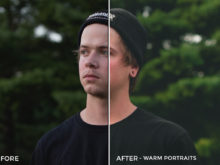 Warm Portraits - Corey Smith Lightroom Presets - FilterGrade