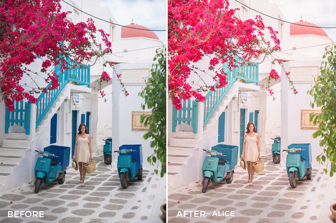 Alice - Daniel Garcia Costoya Lightroom Presets - FilterGrade