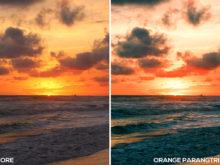 Orange Parangtritis - Samuel Silitonga Jr. Lightroom Presets - FilterGrade