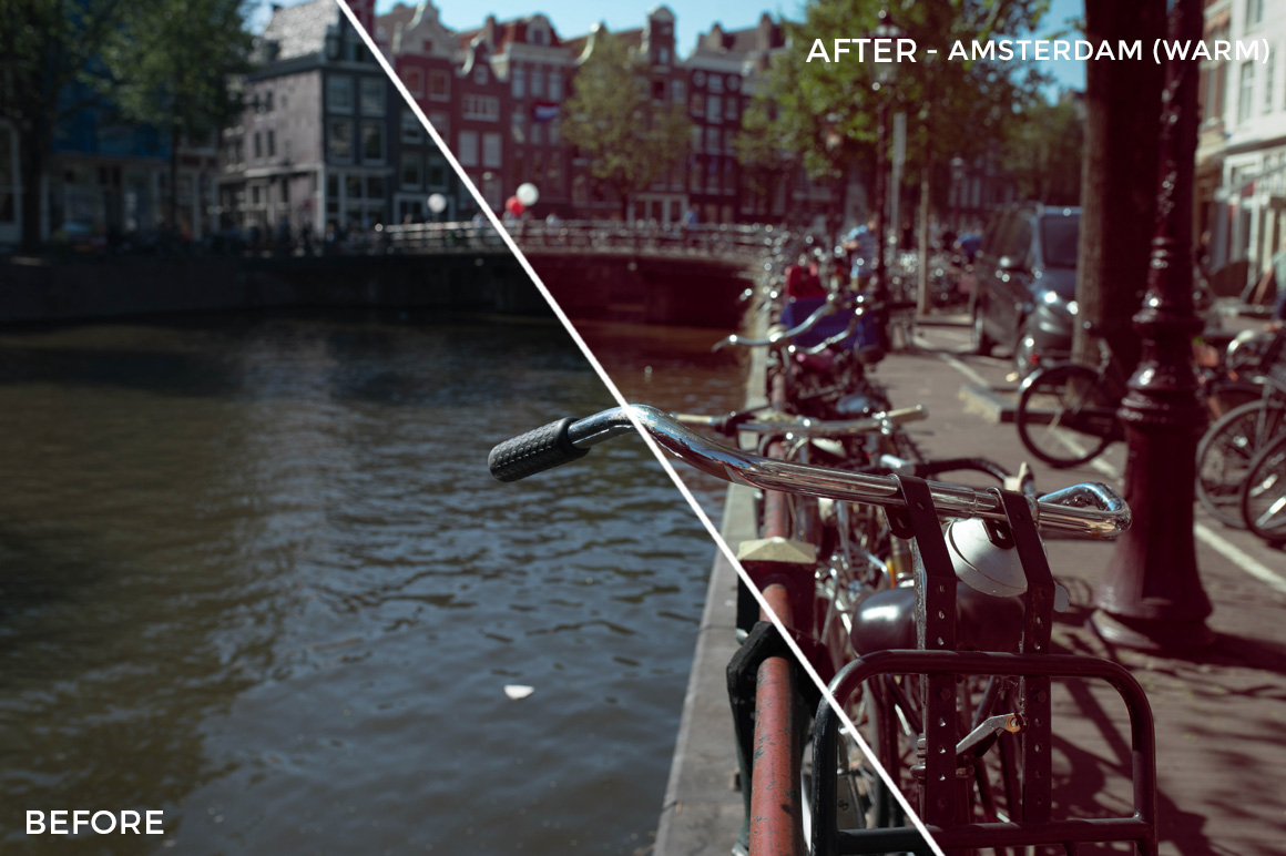 Amsterdam (Warm) - The FilterGrade Agency Lightroom Presets Bundle - FilterGrade
