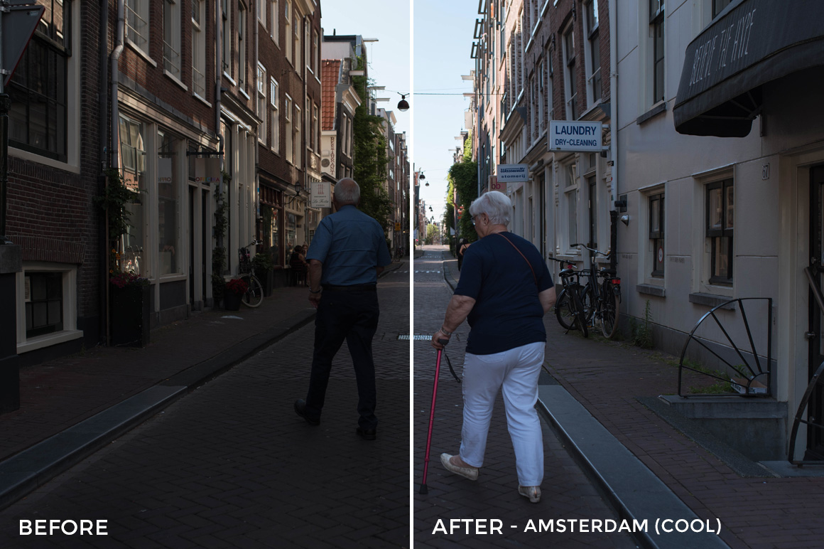 Amsterdam (Cool) - The FilterGrade Agency Lightroom Presets Bundle - FilterGrade