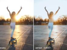 Sunset - Drew Dirksen Lightroom Presets - FilterGrade