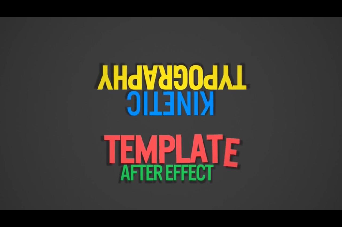 animated text effects motion graphics