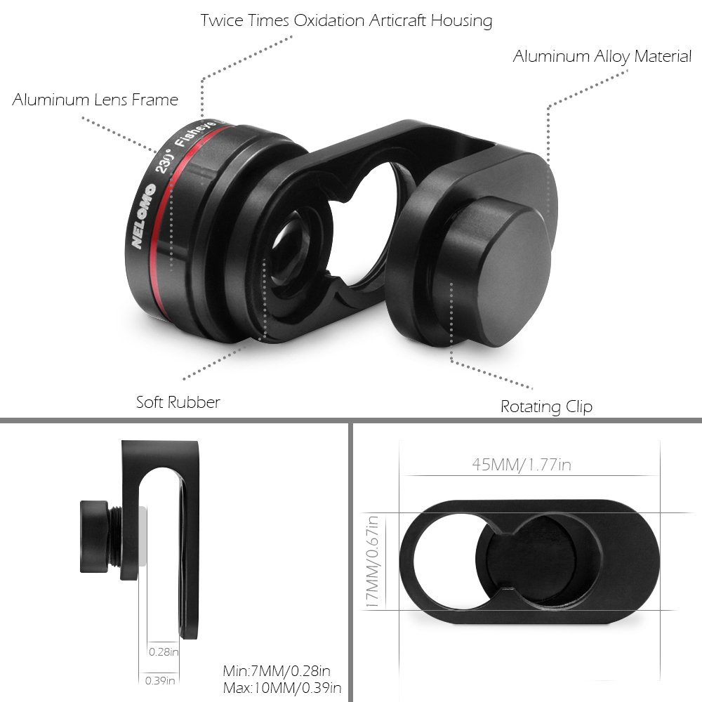 sale retailer 1dd18 19a5f Top Cell Phone Lens Attachments for Mobile Photographers - FilterGrade