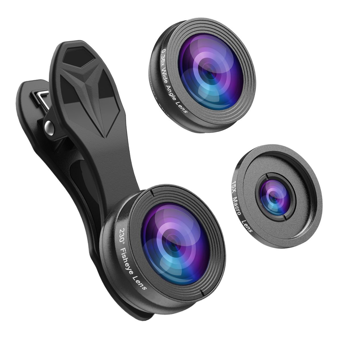 hizek mobile lens set for cell phones