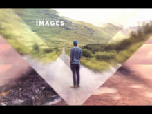 image slideshow after effects template