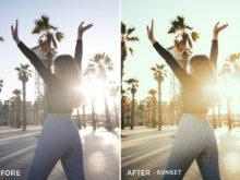 Sunset - Sascha Oberholzer Lightroom Presets - FilterGrade