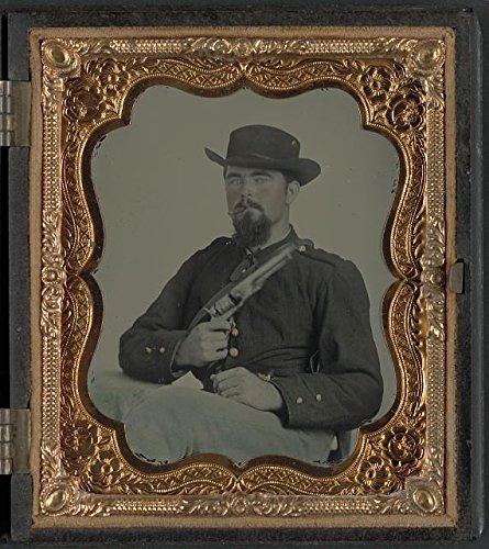 American Civil War, Private William B. Todd, 9th Virginia Cavalry Regiment, c1863