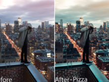 Pizza 1 - August Reinhardt Lightroom Presets - FilterGrade