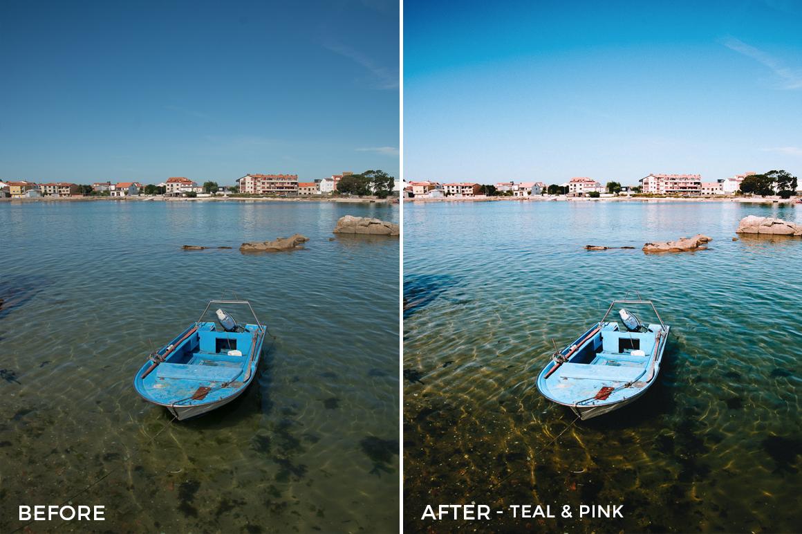 Teal & Pink - Mikhail Malyugin Spain Lightroom Presets - FilterGrade
