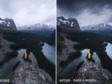 Dark & Moody - Catherine Simard Lightroom Presets - FilterGrade
