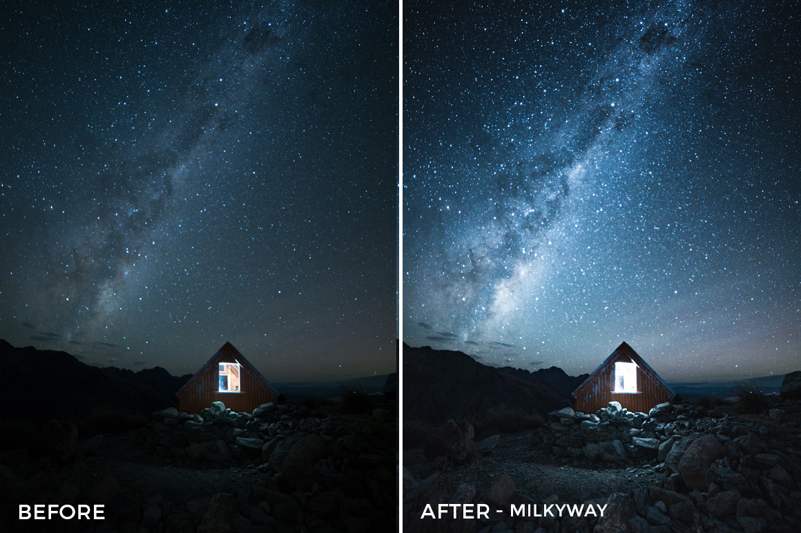Milkyway - Catherine Simard Lightroom Presets - FilterGrade
