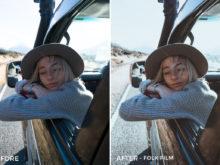 Folk Film - Catherine Simard Lightroom Presets - FilterGrade