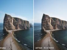 Blue Skies - Catherine Simard Lightroom Presets - FilterGrade