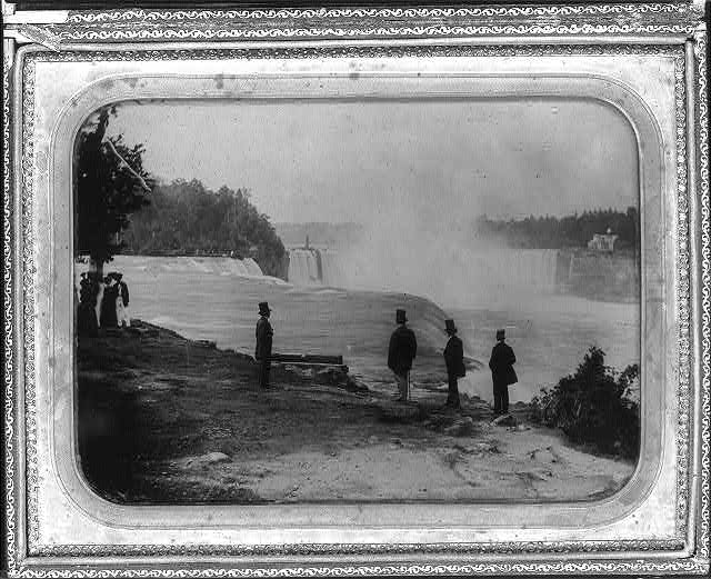 Niagra Falls - Platt D Babbit - What is an Ambrotype? - FilterGrade