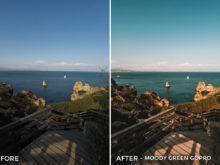 Moody Green GoPro - Filippo Cinotti Lightroom Presets - FilterGrade