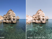 Portugal Sea - Filippo Cinotti Lightroom Presets - FilterGrade
