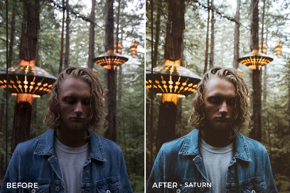 Saturn - Michael Kagerer Lightroom Presets V3 - FilterGrade