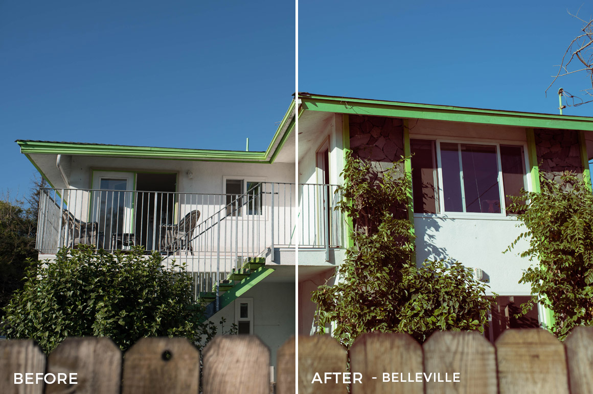 belleville real estate lightroom preset