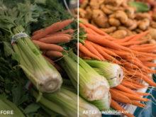food photo presets